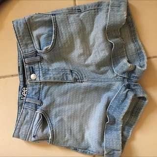Lee High Waisted Shorts