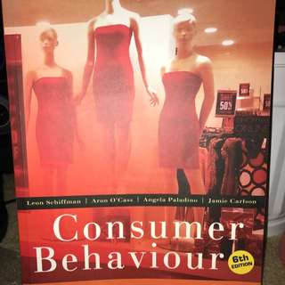 Consumer Behaviour Textbook 6th Edition