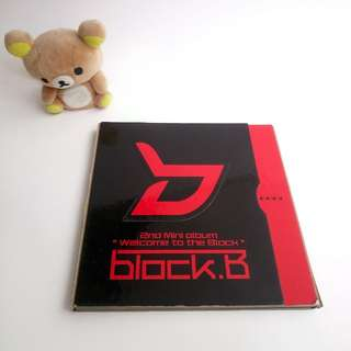 BLOCK B - 2ND MINI ALBUM Welcome to the Block [Limited Edition]