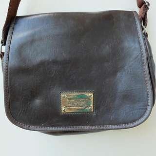 Louis Vuitton Leather Sling Bag