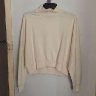 Zara Crop Turtleneck Sweater