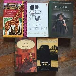 Jane Eyre/Emma/sense And Sensibility