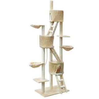 244CM Cat Tree - Beige