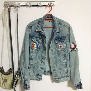 TOPSHOP MOTO DENIM JACKET
