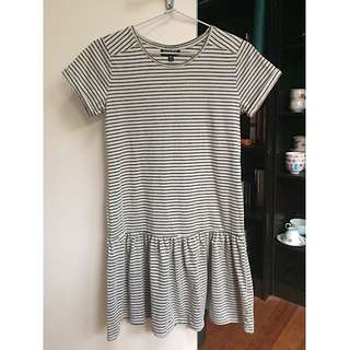 Striped Topshop T-shirt Dress