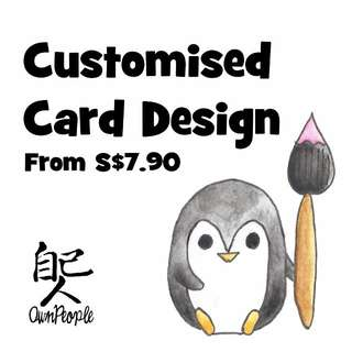 Customised Card Designs