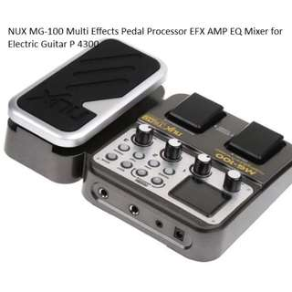 NUX MG-100 Multi Effects Peda