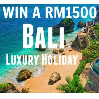Free Holiday Bali 3D2N W/ 5* Hotel, Return Flights AirAsia and Ground Transport