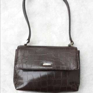 Nine West Shoulder Bag Croco