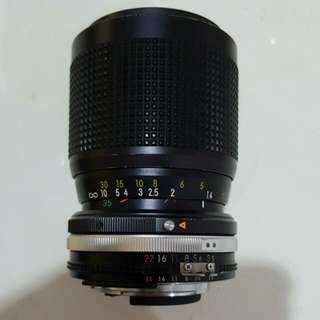 Camera Lens - Zoom-Nikkor 35mm to 105mm