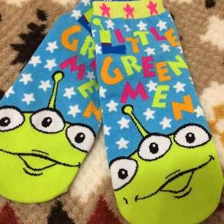 玩具總動員 三眼怪 襪子 迪士尼
