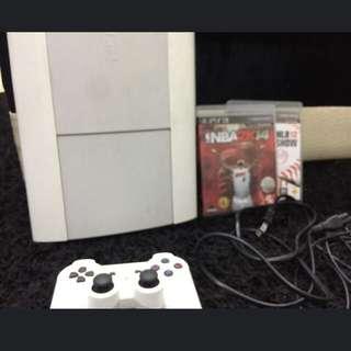 PS3 4007B 250G 白色 (仍可議價)