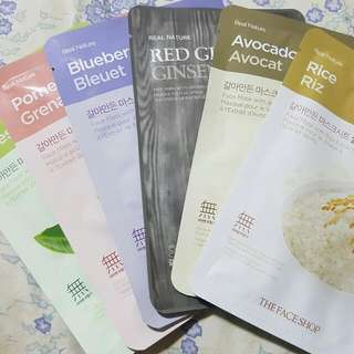 Face Mask - THE FACE SHOP (6pcs Per Set)