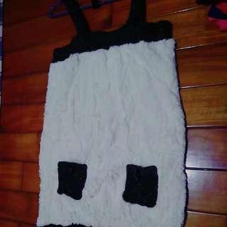 日系店購入冬季毛巾絨雙口袋洋裝 原價1990  #轉轉來交換
