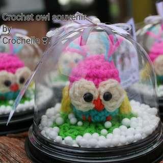 Crochet Owl Souvenir
