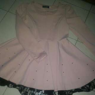 Dress Pink, Size L