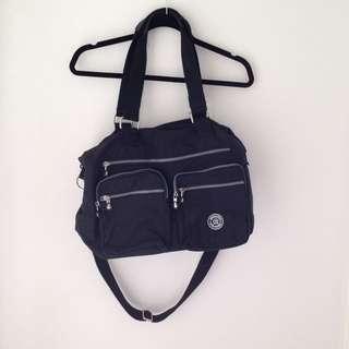 Black waterproof bag