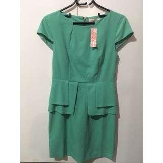 Mink green dress