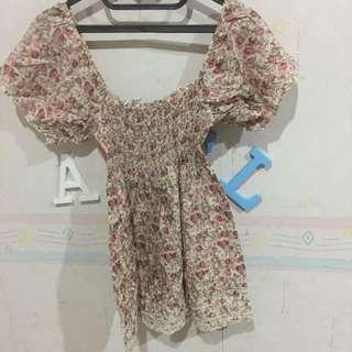 Dress Bunga Bunga Dress Pantai