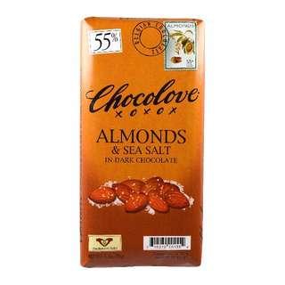 Chocolove 海鹽杏仁黑朱古力 3.2盎司(90克)