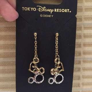 Disney Earings 100% Ori