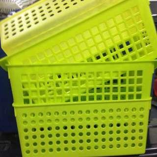 Slim Basket Green