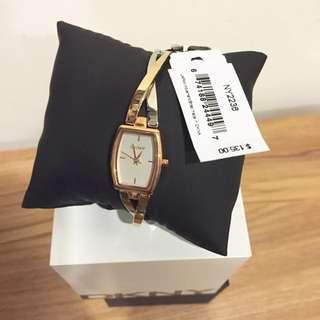 DKNY ny2236 玫瑰金女錶
