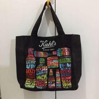 Kiehl's canvas tote bag
