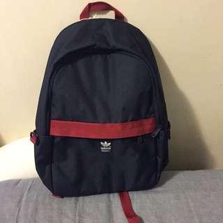 Adidas後背包 紅藍