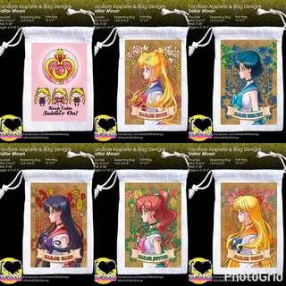 Sailor Moon Fandom Drawstring Bag/Pouch