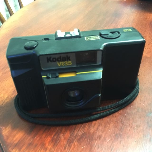 35mm Film Camera, Kodak + Flash
