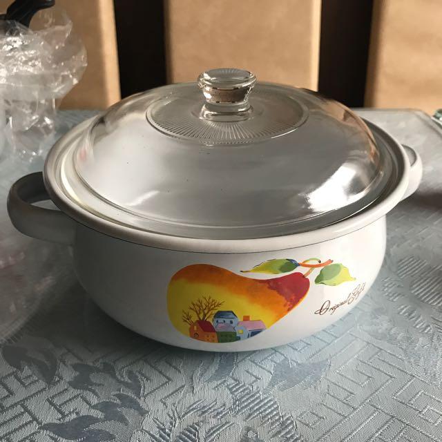 全新琺瑯鍋