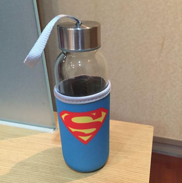 超人玻璃水瓶