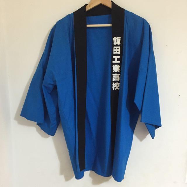 藍色和服外掛