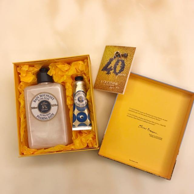 歐舒丹乳油木禮盒