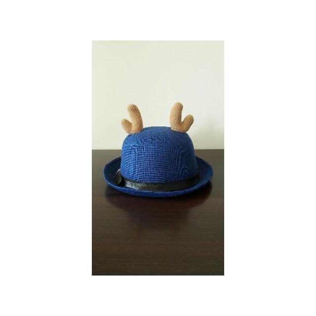 鹿角 帽子 圓帽 小鹿 聖誕
