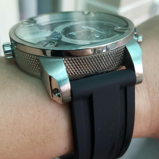 配納海 可以替換錶帶 PU  22mm