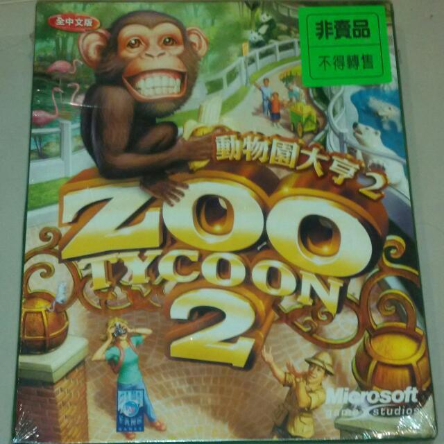 [全新未拆封] Windows 遊戲 - 動物園大亨2,#你喜歡我送你