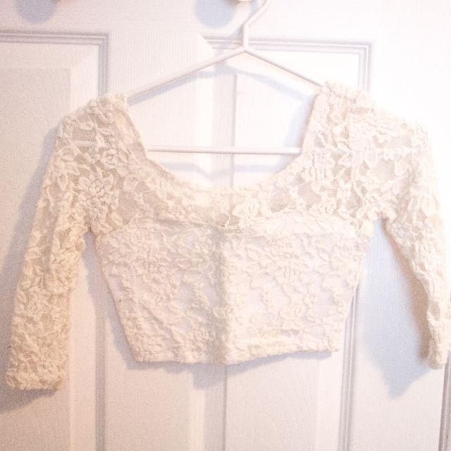 Abercrombie Lace Crop Top