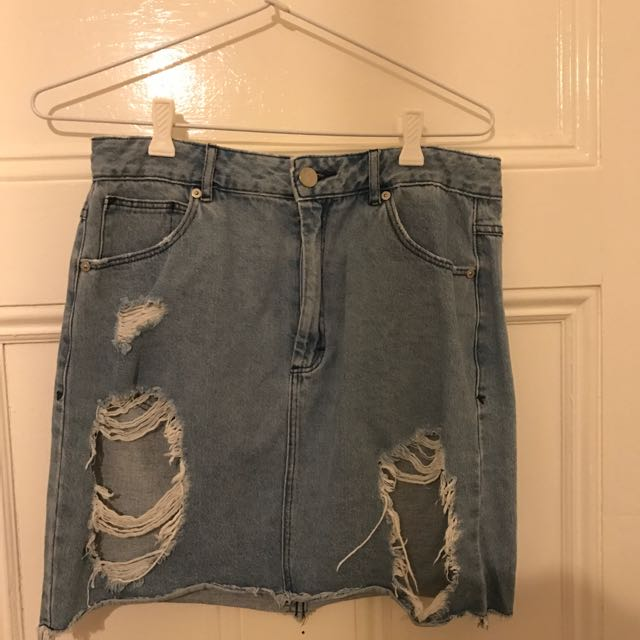 Abrand Jeans Skirt