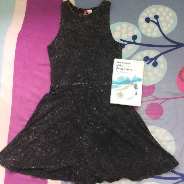 Acid Wash H&M Dress