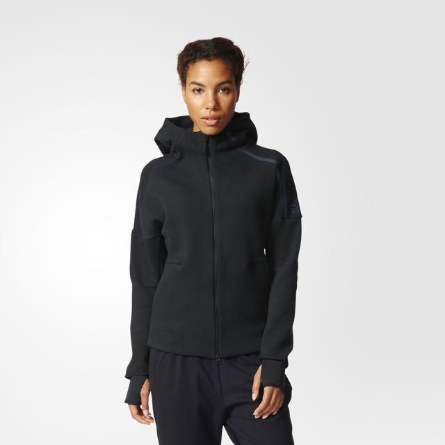 Adidas Z.N.E Hoodie Black 女生s號