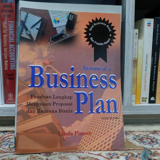 Anatomy Businessplan