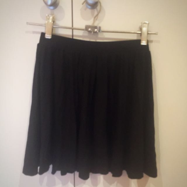 ASOS Black Skater Skirt