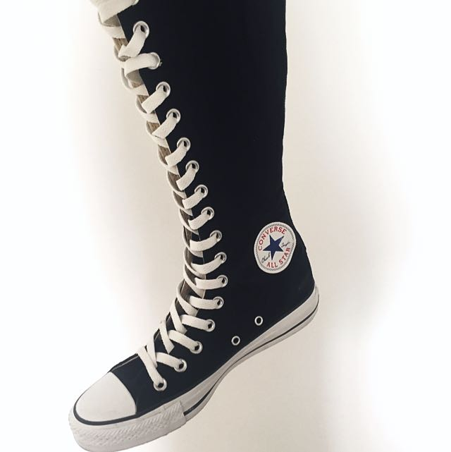 6bb2da073f33 Authentic Converse Knee High Sneakers