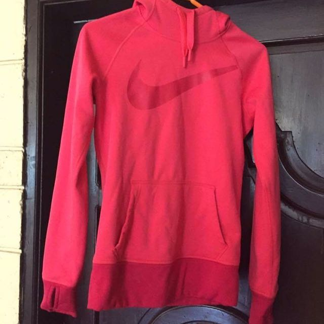 Authentic Pink Nike Sport Thermafit Hoodie Jacket