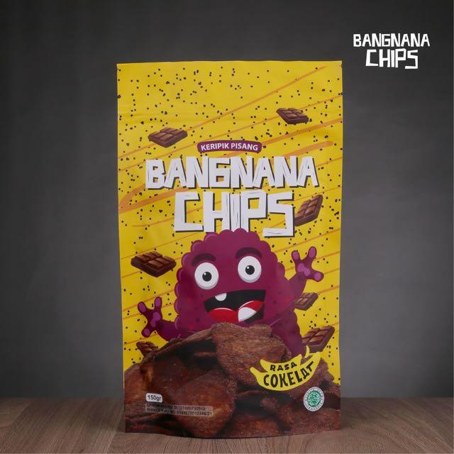 BANGNANA CHIPS kripik Pisang