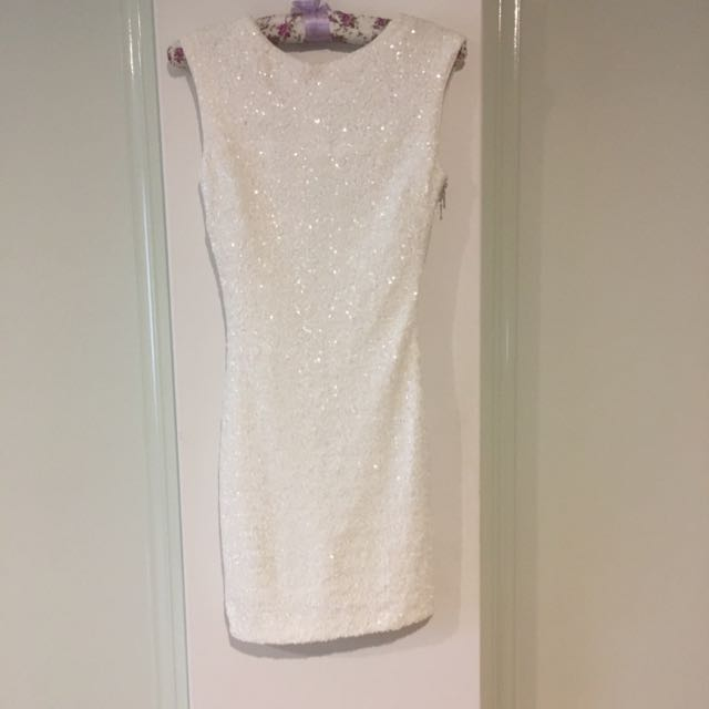 Bardot Sequin Dress Size 6
