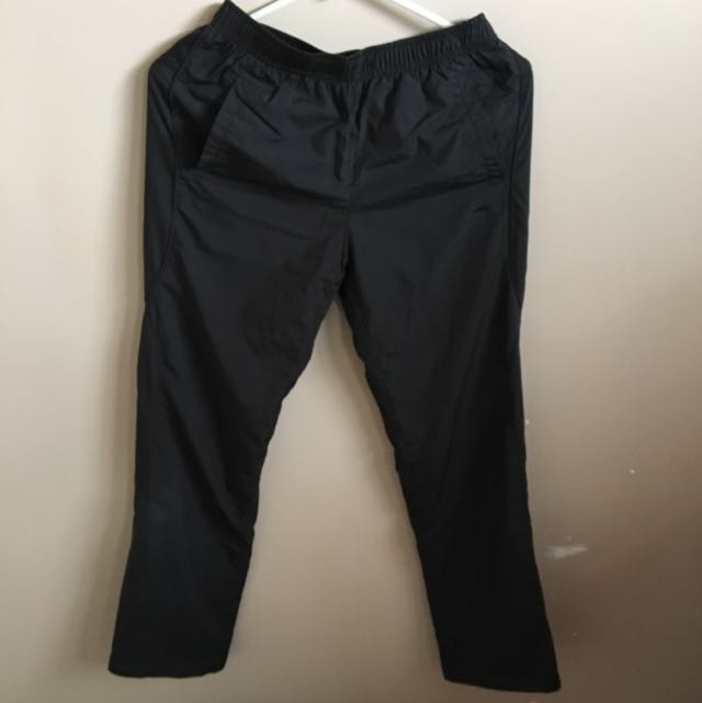 Black Anta Track pants