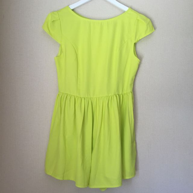 Bright Yellow Playsuit